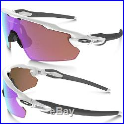 100% Genuine Oakley Radar Ev Pitch Sunglasses Polished White / Prizm Golf