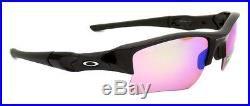 24-428 Oakley Sunglasses Flak Jacket XLJ Polished Black Prizm Golf