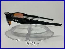 AUTHENTIC Oakley Flak Jacket Polished Black withPrizm Golf Lens 24-428