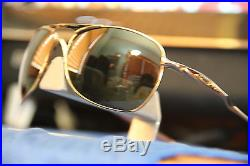 ++ AVIATOR Oakley CROSSHAIR ++ POLISHED GOLD DARK GREY LEN$