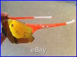 BNWT Oakley EVZero Path Custom Sport Sunglasses Cricket Cycling Golf Running