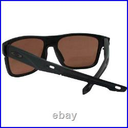 BRAND NEW Oakley Crossrange Matte Black/Prizm Dark Golf OO9361-1757 Sunglasses