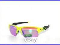 Clearanceoakley Sunglasses Flak Jacket 2.0 XL 9188-11 Uranium Prizm Golf