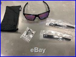 FREE SHIPPING (U. S.) NEW Oakley Crossrange sunglasses Black Prizm Golf 9361-0457