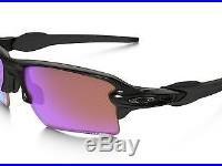 Genuine Oakley Sunglasses Flak 2.0 XL Polished Black with Prizm Golf OO9188-05
