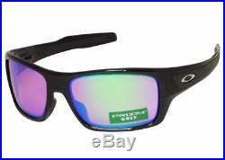 NEW AUTHENTIC Oakley Turbine sunglasses pol Black Prizm Golf oo9263-30 G30 wrap