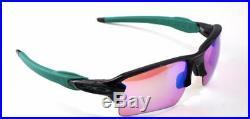 NEW AUTHENTIC Oakley sunglasses Flak Jacket 2.0 XL Black Prizm Golf G30 9188-70