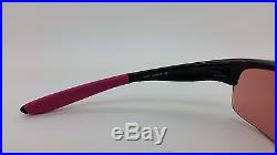 NEW Breast Cancer Coll Oakley COMMIT SQ sunglasses Black G30 Iridium 24-330 Golf