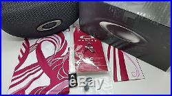 oakley commit sq breast cancer sunglasses  new breast cancer coll oakley commit sq sunglasses black g30 iridium 24 330 golf