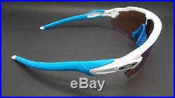 NEW Custom Oakley Radar EV Sunglasses Polished White / Prizm Golf Sky Blue