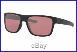 NEW Genuine OAKLEY CROSSRANGE Matte Black Prizm Golf Sunglasses OO 9361 3057