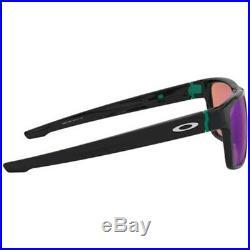 NEW OAKLEY CROSSRANGE GOLF Polished Black Prizm Sunglasses OO 9371 1257 Asia Fit