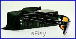 NEW OAKLEY CROSSRANGE Prizm Golf OO9361-0457 Polished Black Frame 57mm Lens