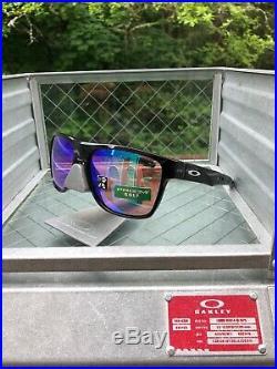 NEW! OAKLEY CROSSRANGE XL Sunglasses Polished Black / Prizm Golf OO9360-0458
