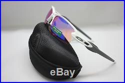 New Oakley Flak 2.0 Sunglasses Polished White / Prizm Golf 9295-06