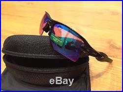 NEW OAKLEY FLAK 2.0 XL PRIZM GOLF Sunglasses Polished Black Flak Jacket Radar