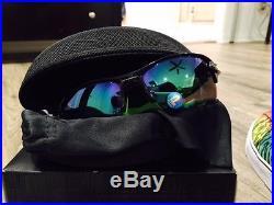 2eaa5892da NEW OAKLEY FLAK 2.0 XL Sunglasses BLACK INK JADE POLARIZED Lens GOLF Radar