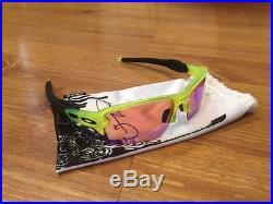 NEW OAKLEY FLAK 2.0 XL Uranium Collection! PRIZM GOLF Sunglasses Flak Jacket