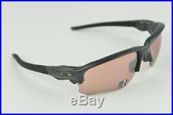 NEW OAKLEY FLAK DRAFT Matte Black Prizm Dark Golf OO9364-1167 Sunglasses
