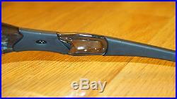 NEW OAKLEY FLAK JACKET ASIAN FIT GOLF SPECIFIC Crystal Black/G30 Iridium 24-376J