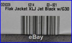 oakley flak jacket xlj golf sunglasses  new oakley flak jacket xlj golf sunglasses jet black, g30 lens (03 921