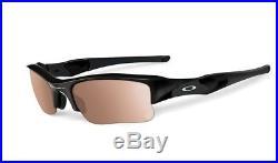 NEW OAKLEY Flak Jacket XLJ Photochromic Polish Black VR50 Transitions OO9009-05