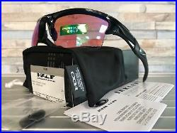 NEW OAKLEY HALF JACKET 2.0 XL SUNGLASSES OO9154-49 Polished Black / Prizm Golf