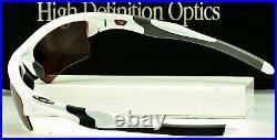 NEW OAKLEY HALF JACKET XL PRIZM DARK GOLF OO9154-6362 Polished White USA MADE