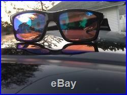NEW OAKLEY MAINLINK SUNGLASSES OO9264-23 Polished Black / Prizm Golf