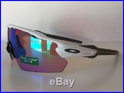 NEW OAKLEY RADAR EV PITCH PRIZM GOLF Sunglasses OO9211-05 Polished White
