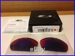 NEW OAKLEY Straight Jacket Replacement Lenses Kit +Red Iridium, 13-909