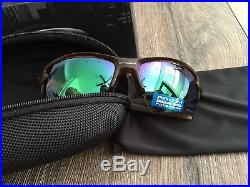 0bc81f06ae NEW OAKLEY Sunglasses FLAK 2.0 XL POLARIZED Matte Rootbeer PRIZM H20 Golf  Radar