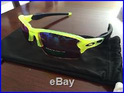 b73bcf455f6 NEW OAKLEY Sunglasses FLAK 2.0 XL PRIZM Uranium Golf Edition! Radar Lock  Zero