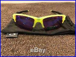 NEW OAKLEY Sunglasses FLAK 2.0 XL Uranium PRIZM GOLF Limited Edition PGA Cycling