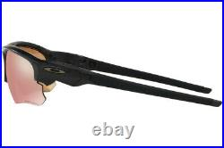 NEW ORIGINAL OAKLEY FLACK DRAFT OO9364-11 Matte Black Prizm Dark Golf Sunglasses