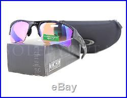 NEW Oakley 24-428 Flak Jacket Polished Black / Prizm Golf Sunglasses
