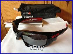 NEW Oakley CASEY STONER EDITION DUCATI SCALPEL Polished Black Iridium OO9134-08