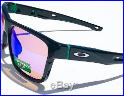 NEW Oakley CROSSRANGE Black w PRIZM GOLF Iridium Lens Sunglass oo9361-04