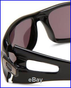 NEW Oakley Crankcase Sunglasses, Polished Black / Warm Grey, OO9165-01