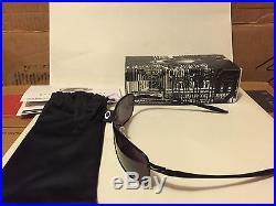 NEW Oakley Crosshair 2.0 Matte Black / Warm Grey, OO4044-04