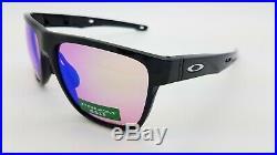 NEW Oakley Crossrange XL sunglasses 9360-0458 Black Prizm Golf AUTHENTIC g30