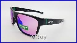 NEW Oakley Crossrange sunglasses Black Prizm Golf 9371-0357 Cross Asian Fit G30