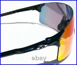 NEW Oakley EV ZERO Black Polished w PRIZM ROAD Bike Golf Cycling Sunglass 945402