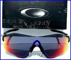 NEW Oakley EV ZERO Path Planet X w RED Iridium Bike Golf Sunglass 9313-02