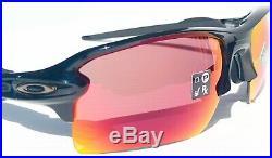 NEW Oakley FLAK 2.0 Black PRIZM Field Baseball Golf XL Sunglass 9188-91