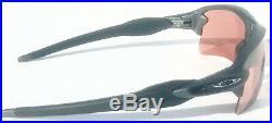 NEW Oakley FLAK 2.0 XL in LEAD Steel w PRIZM Dark Golf Sunglass 9188-B2