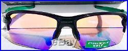NEW! Oakley FLAK JACKET 2.0 BLACK w PRIZM GOLF Lens Sunglass oo9188-70