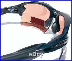 NEW Oakley FLAK JACKET 2.0 Matte BLACK w PRIZM Dark GOLF Lens Sunglass 9188-90