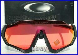 NEW Oakley FLIGHT JACKET Lead w Prizm Trail Torch Sunglasses Bike Golf 9401-17