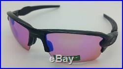 NEW Oakley Flak 2.0 XL sunglasses Polished Black Prizm Golf 9188-05 AUTHENTIC